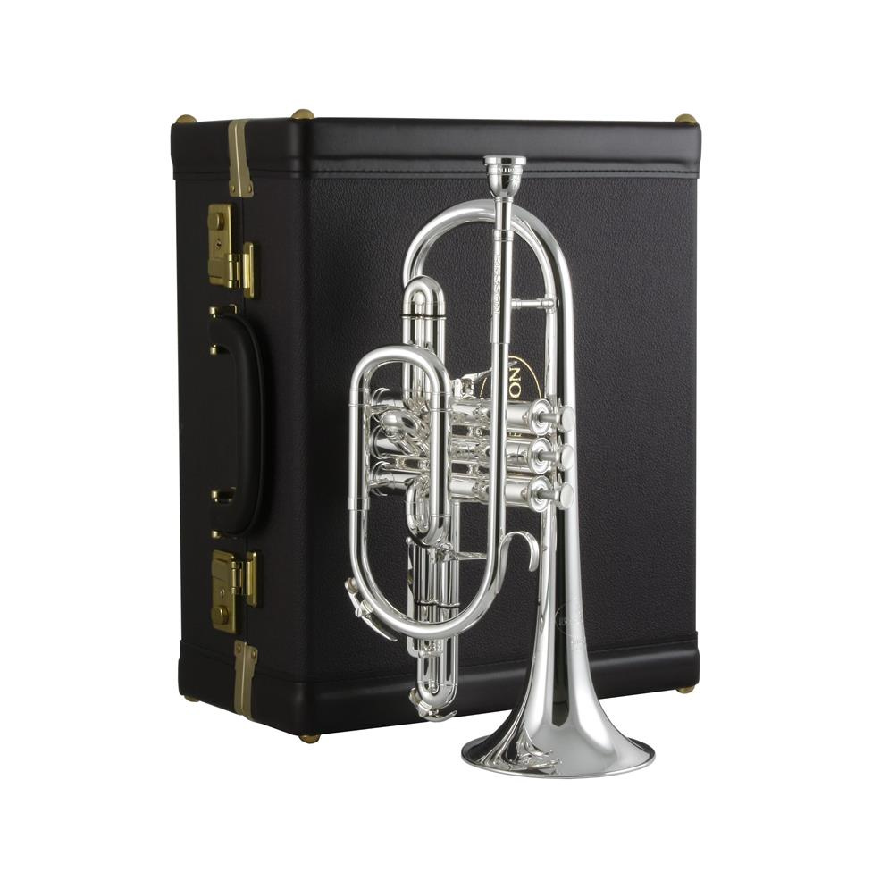 Besson Sovereign 928 B-flat cornet (silver)