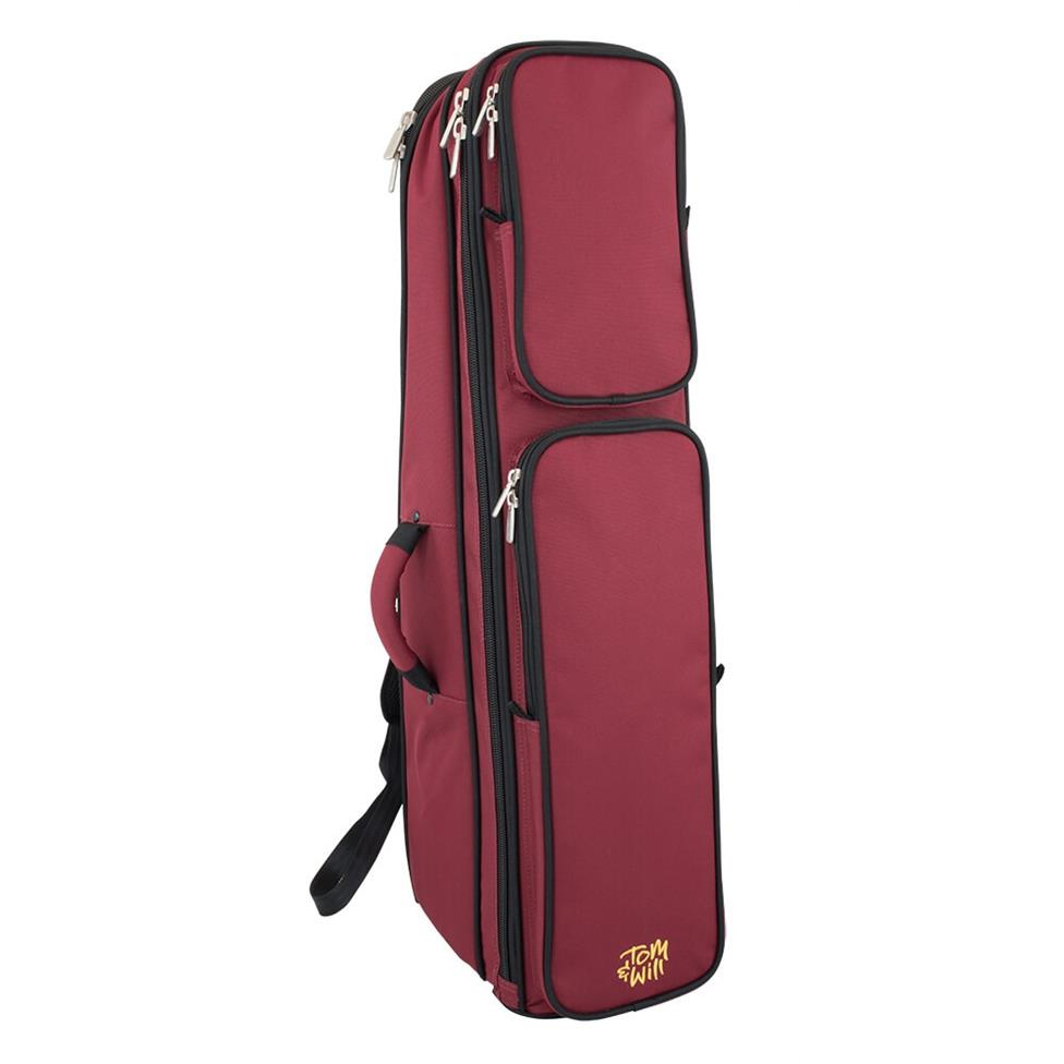 Tom & Will tenor trombone gigbag (burgundy) Thumbnail Image 0