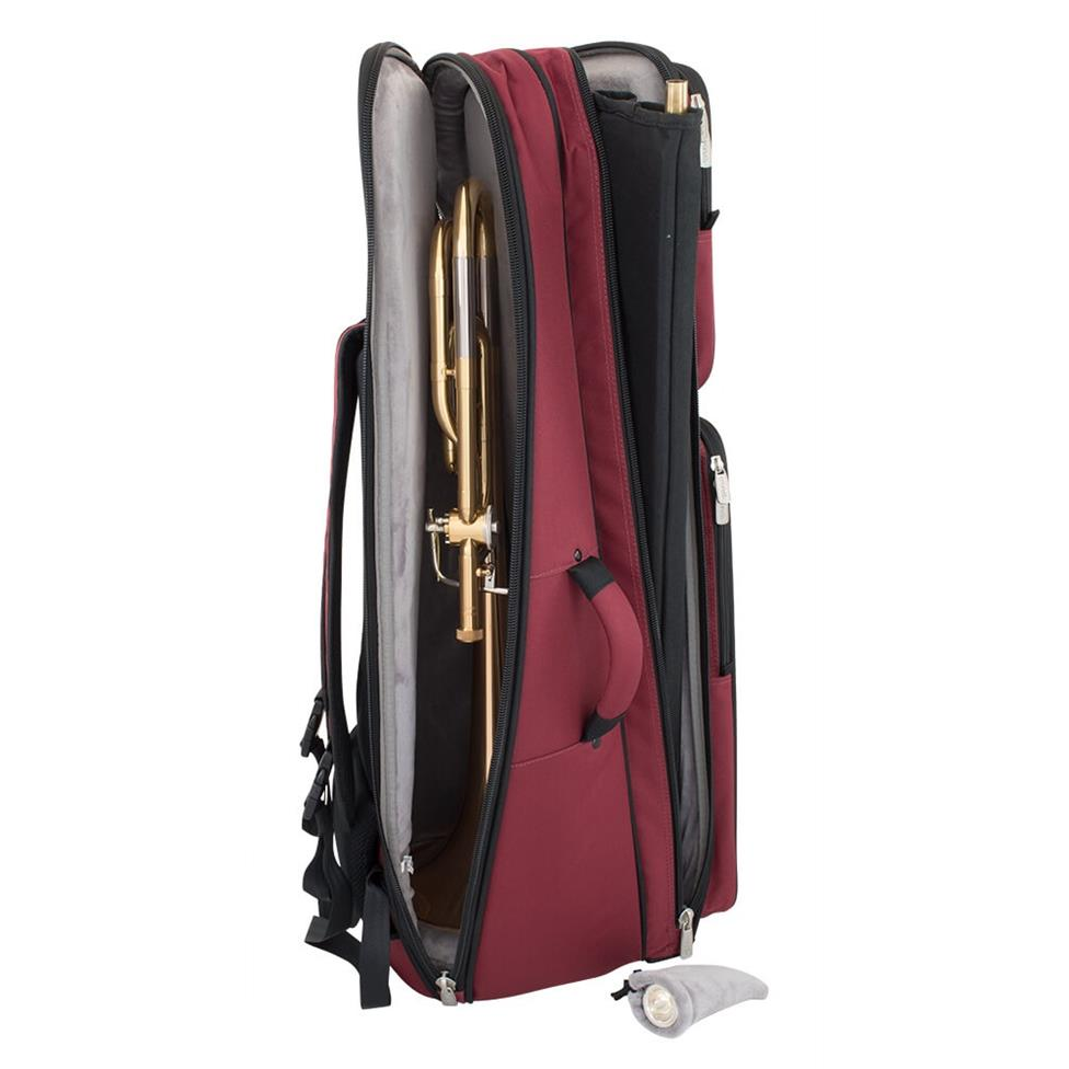 Tom & Will tenor trombone gigbag (burgundy) Thumbnail Image 4