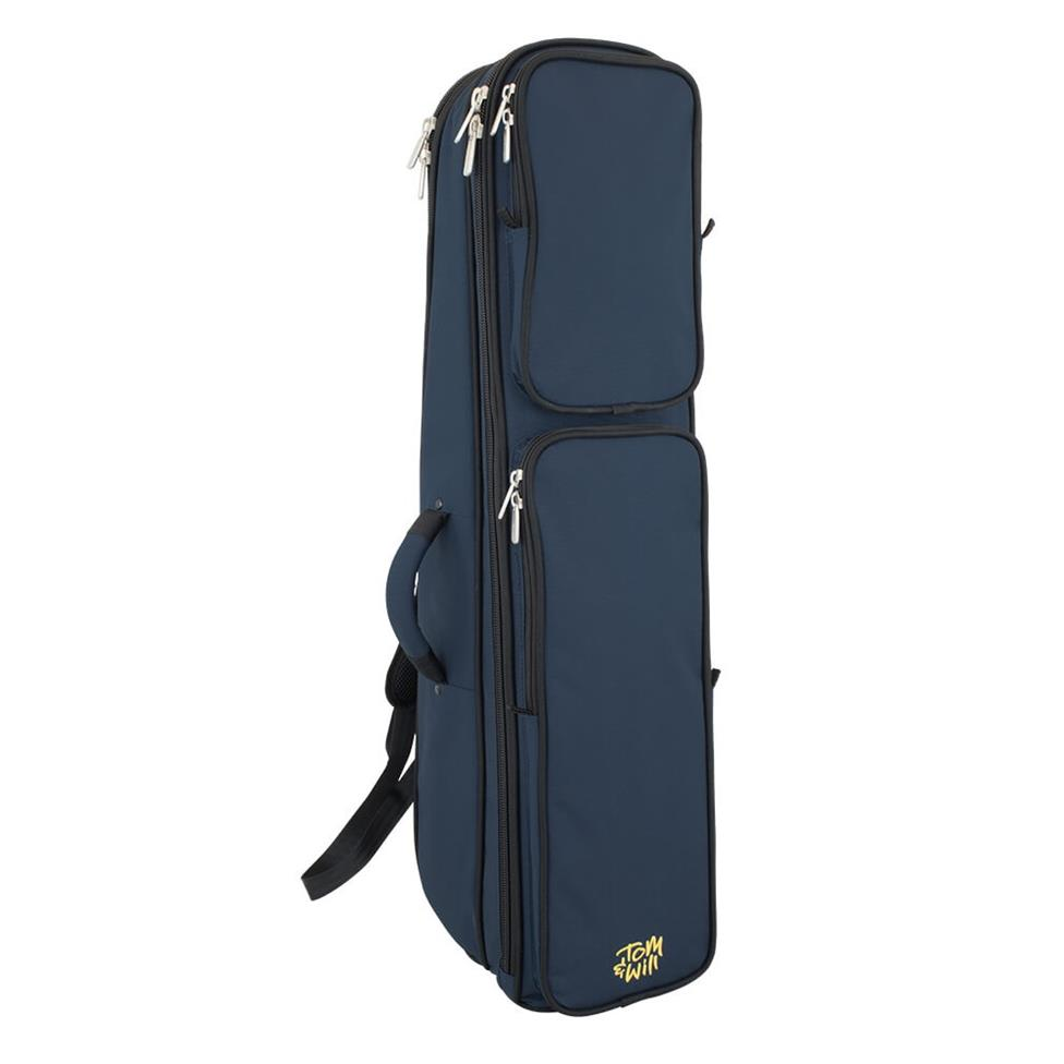 Tom & Will tenor trombone blue gig bag Thumbnail Image 0