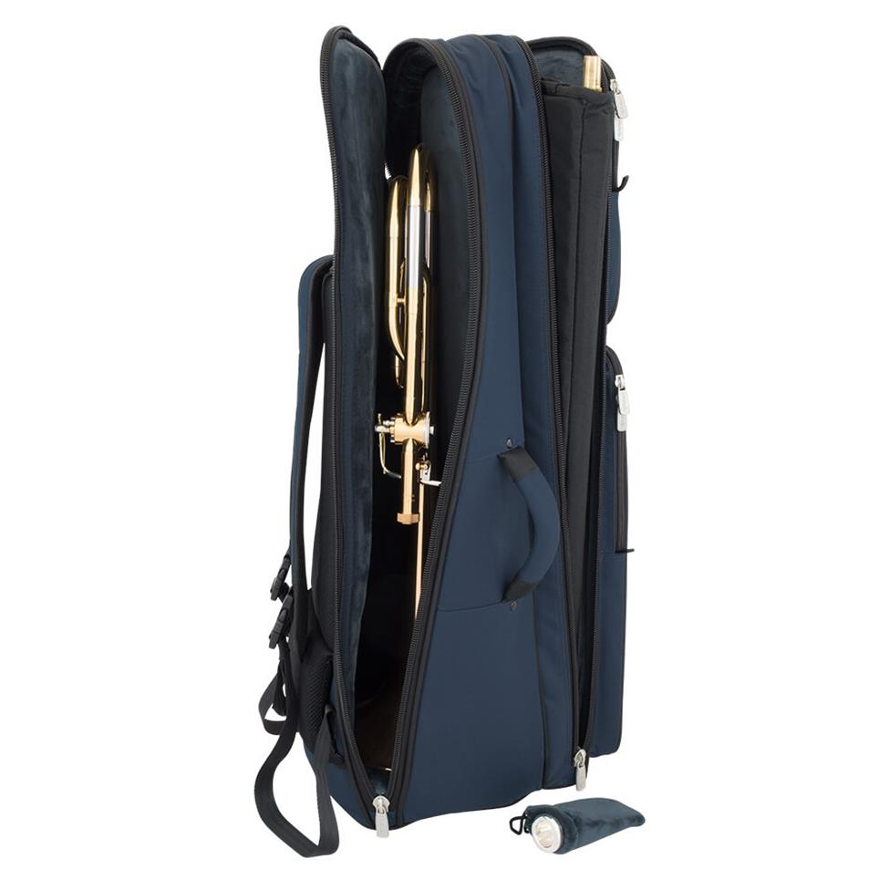 Tom & Will tenor trombone blue gig bag Thumbnail Image 4