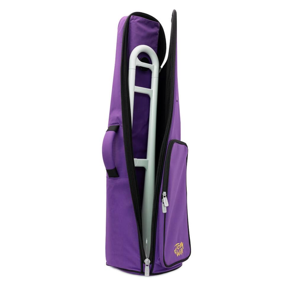 Tom & Will pBone tenor trombone gigbag (purple) Thumbnail Image 1