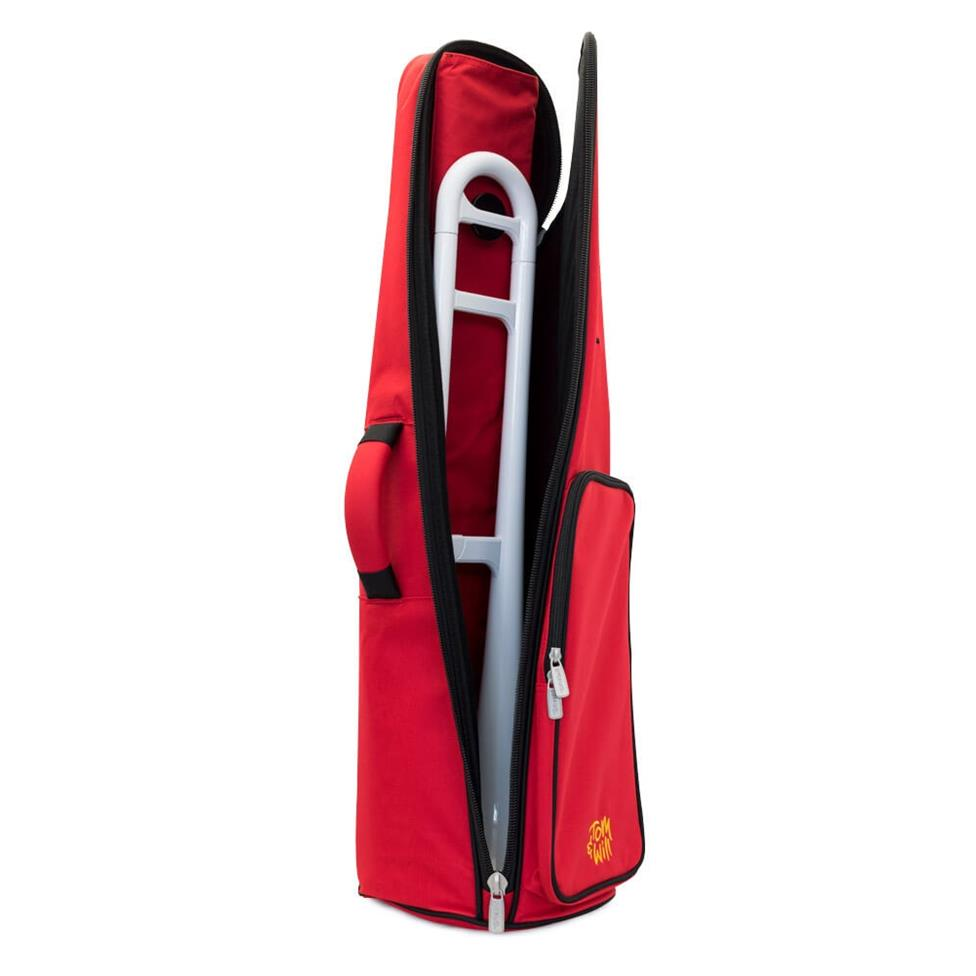 Tom & Will pBone tenor trombone gigbag (red) Thumbnail Image 1