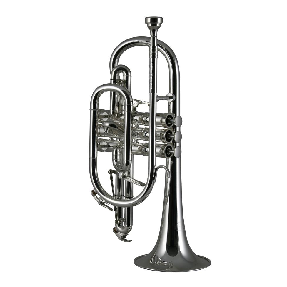 Catelinet Rousseau HC20S cornet (silver)