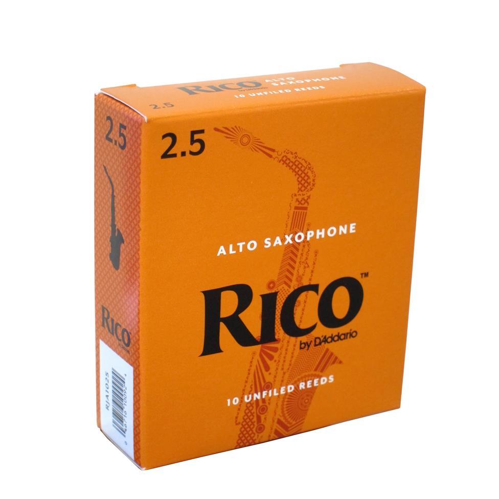 Rico alto sax reeds strength 1½ (box of 10) Image 1