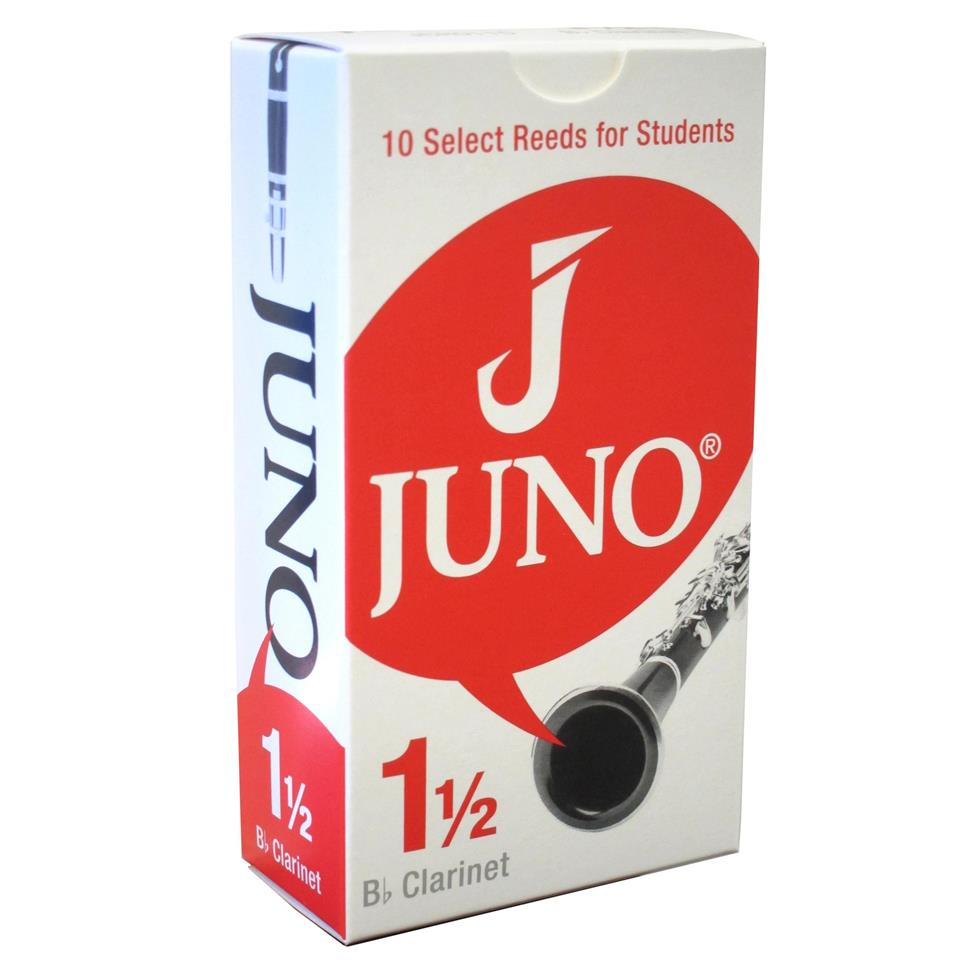 Juno B-flat clarinet reed (box of 10) Image 1