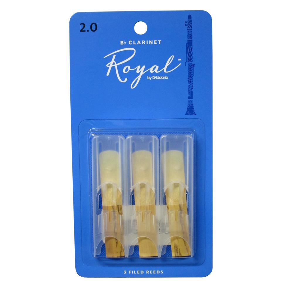 Rico Royal B flat clarinet reed (3-pack) Image 1
