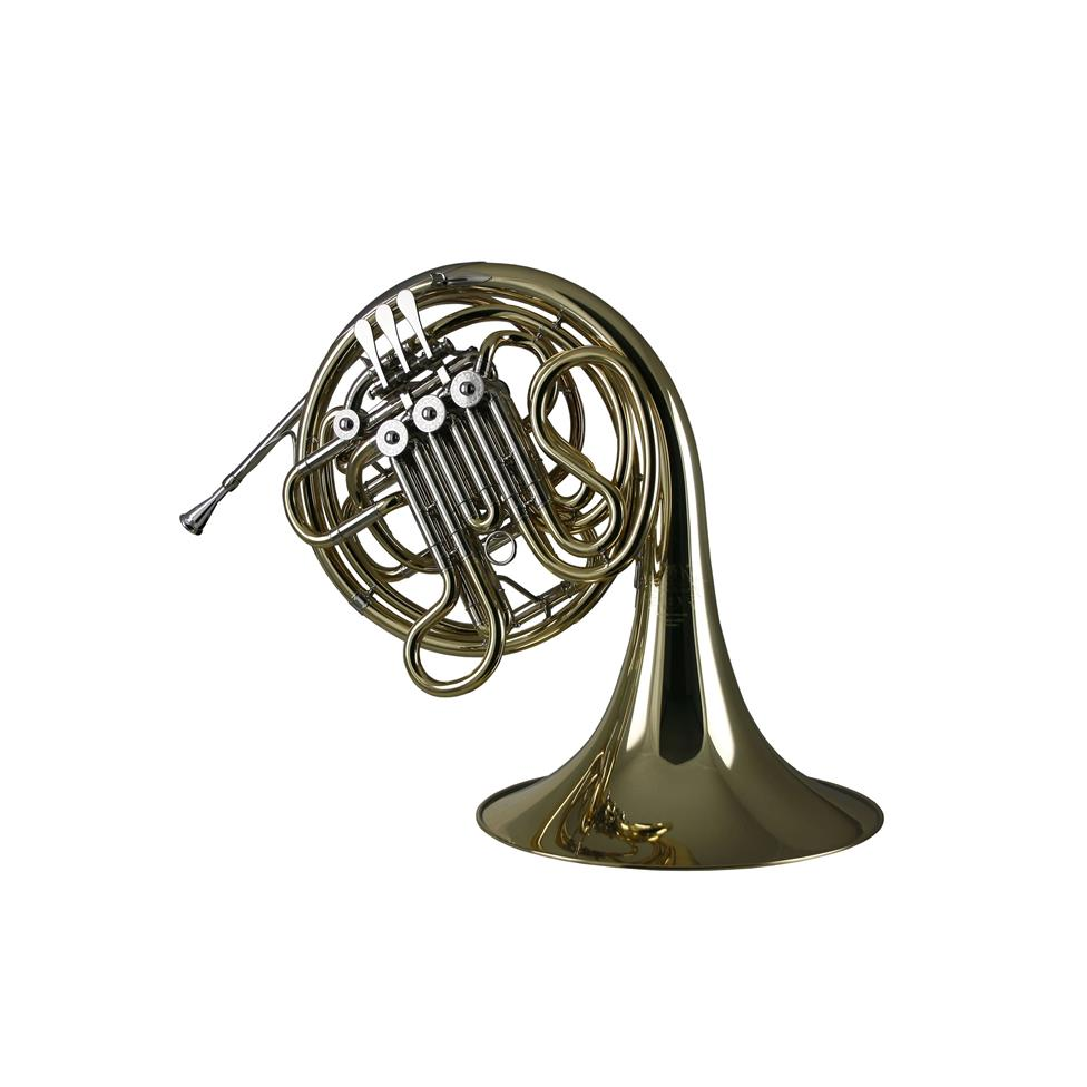 Hans Hoyer 6801 French horn (lacquer) fixed bell Thumbnail Image 0