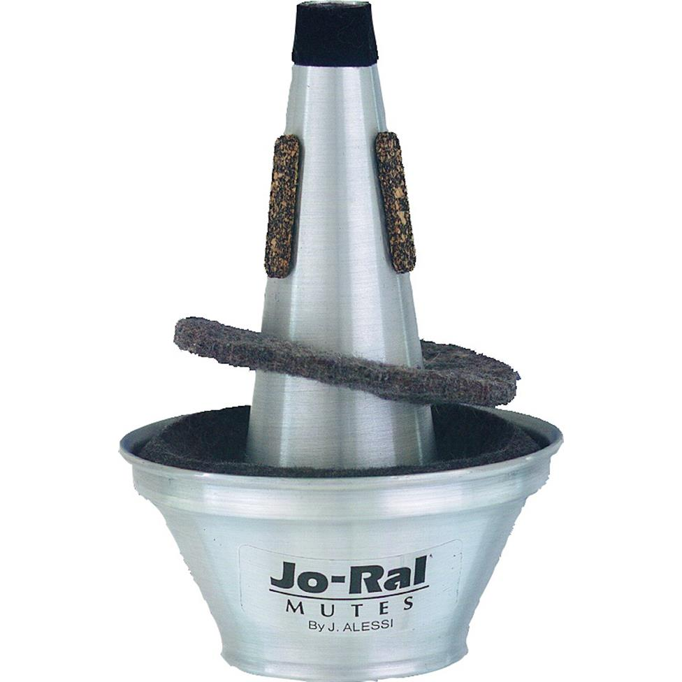 Jo-Ral trumpet tri-tone cup mute Image 1