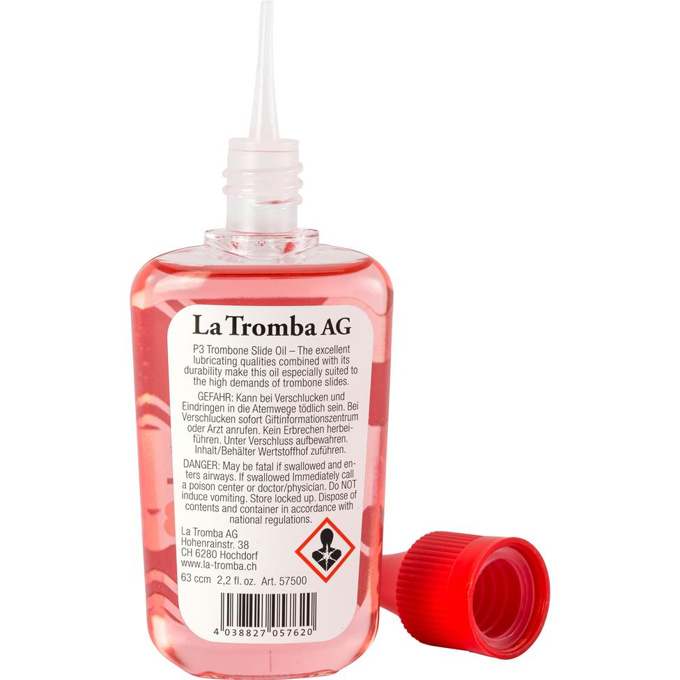 La Tromba P3 slide oil