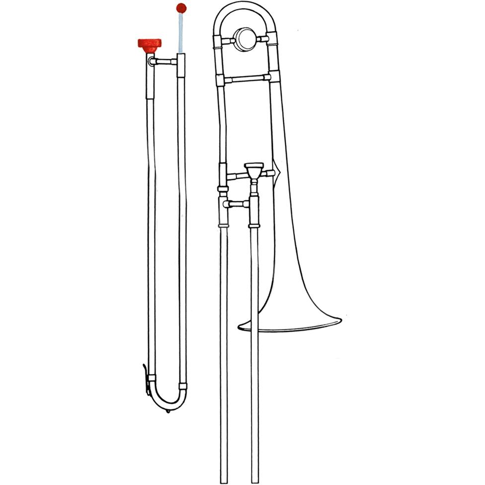 Reka cleaning set (trombone) Thumbnail Image 1
