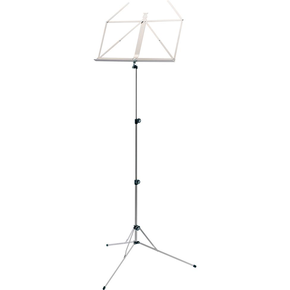 K&M 101 music stand (nickel)