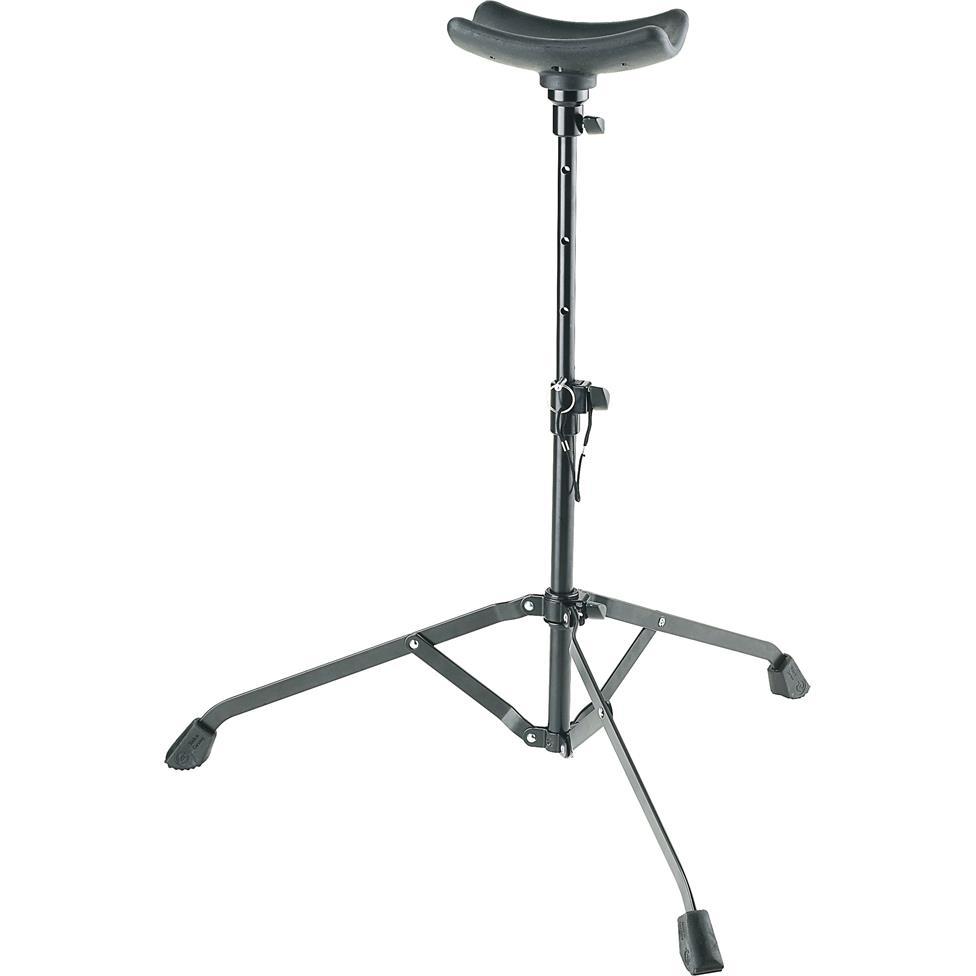K&M 14950 tuba performer (playing) stand Image 1