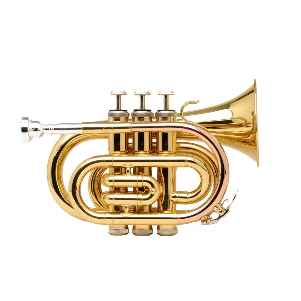 Catelinet CPT10 pocket trumpet (lacquer) Thumbnail Image 0
