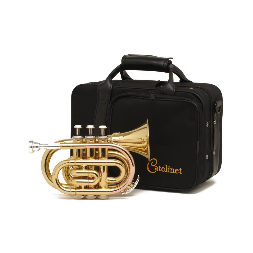 Catelinet CPT10 pocket trumpet (lacquer) Thumbnail Image 1