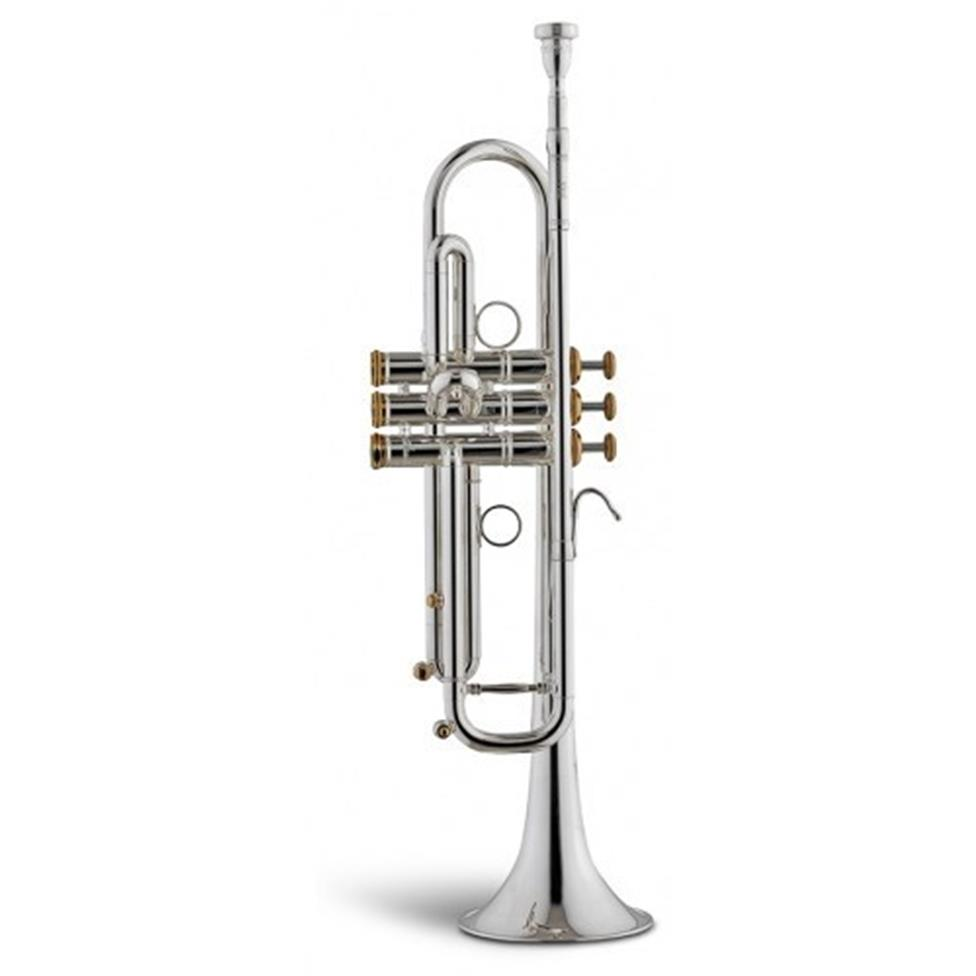 Stomvi Raptor VRII B-flat trumpet (silver) Image 1
