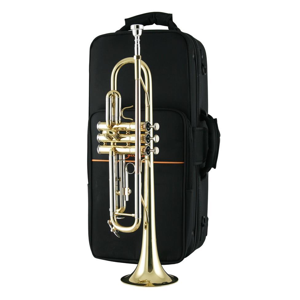 Catelinet CTR14 B flat trumpet (lacquer) Thumbnail Image 2