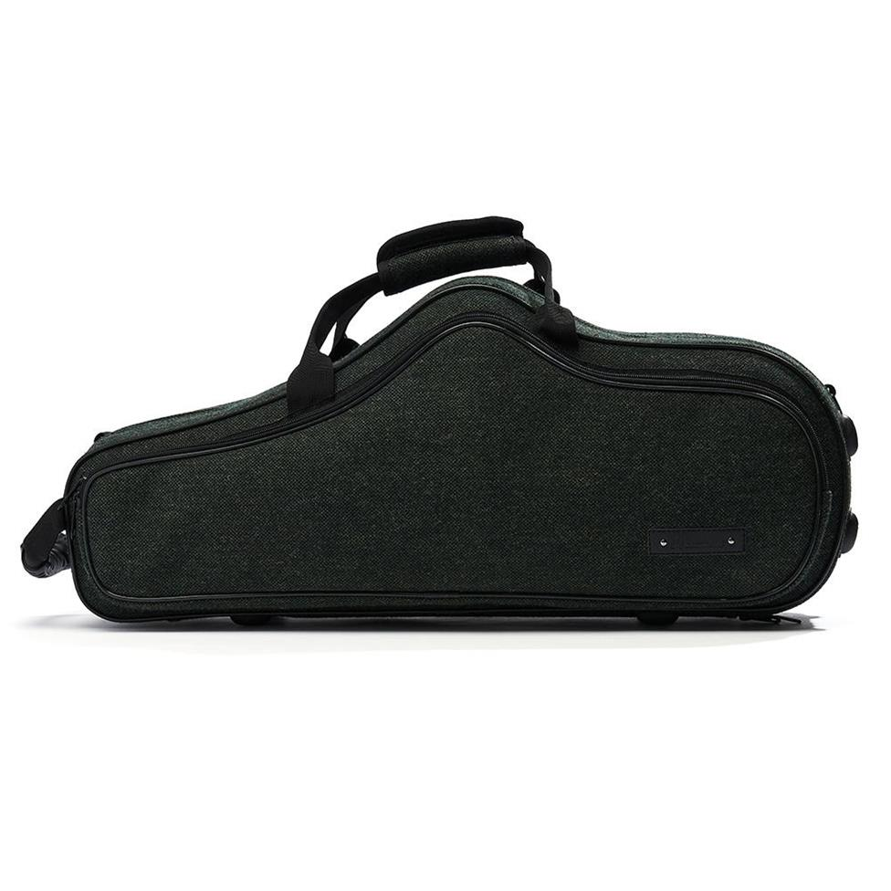 Beaumont alto sax case (racing tweed) Thumbnail Image 2