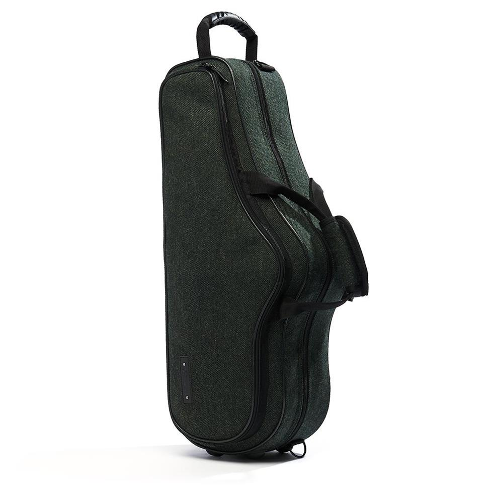 Beaumont alto sax case (racing tweed) Thumbnail Image 0