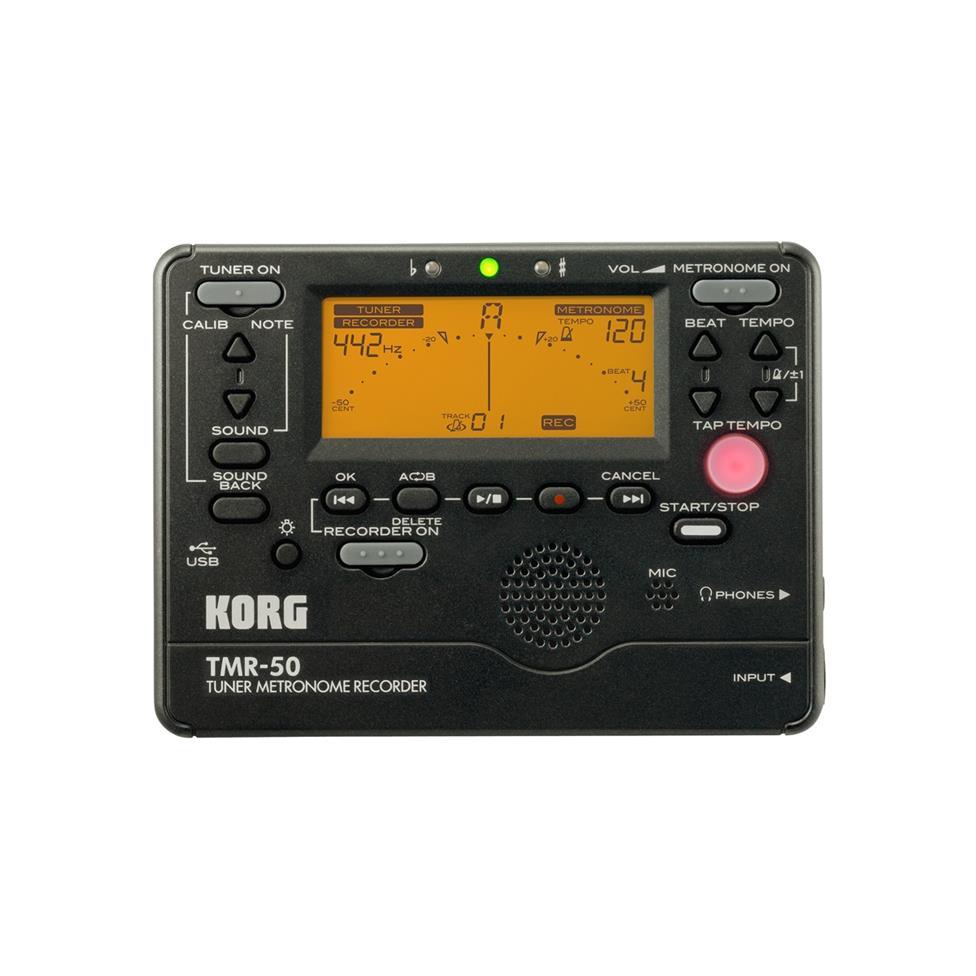 Korg TMR-50 tuner metronome recorder Image 1