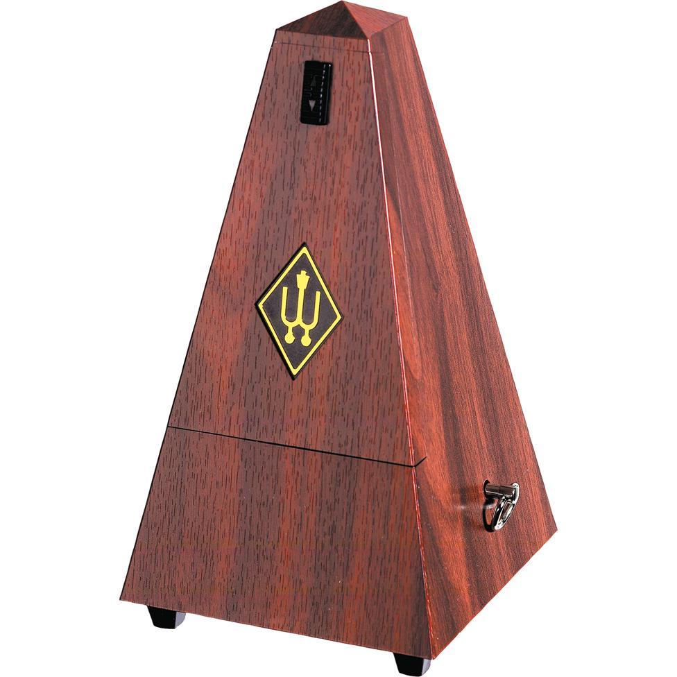 Wittner Maelzel metronome (plastic, mahogany grain) Thumbnail Image 0