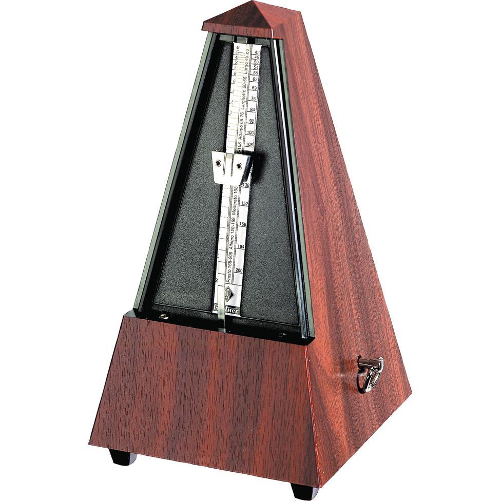 Wittner Maelzel metronome (plastic, mahogany grain) Thumbnail Image 1