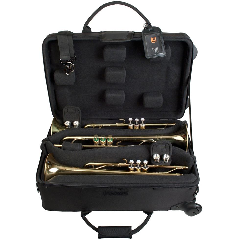 Protec IPAC triple trumpet case (wheeled)