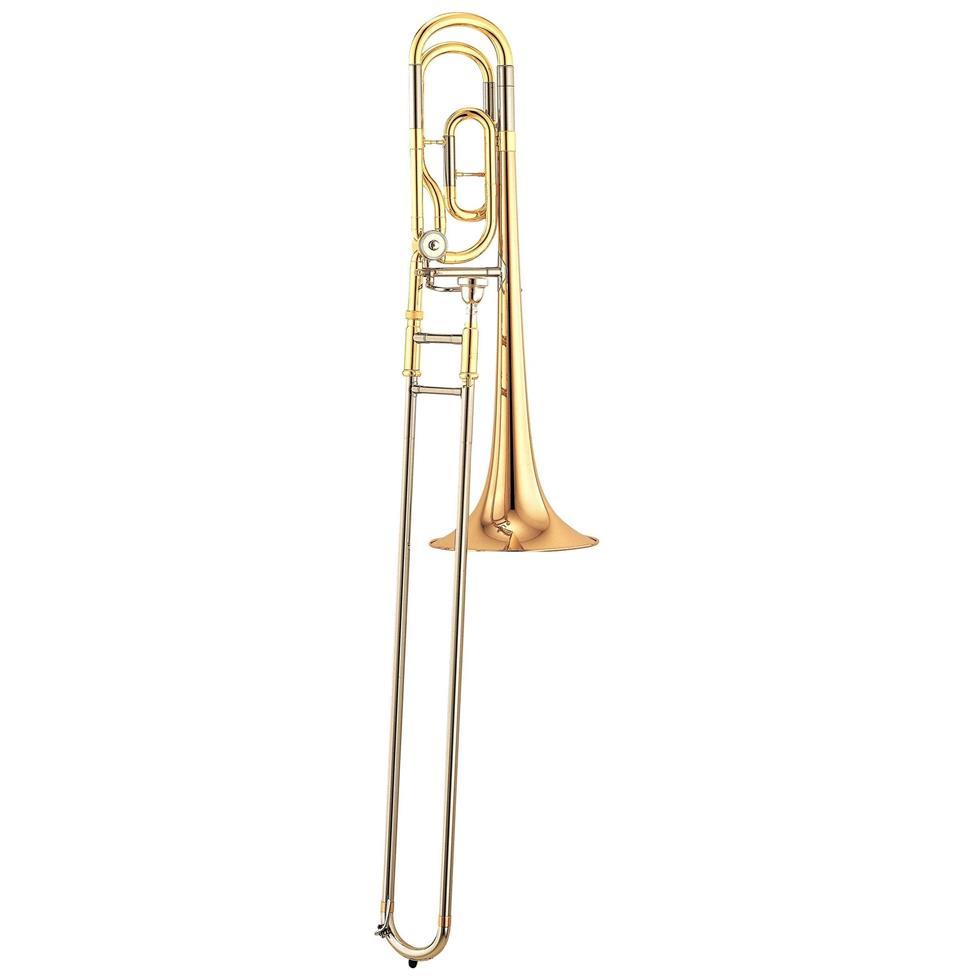 Yamaha YSL448GE B flat/F tenor trombone (lacquer) Image 1