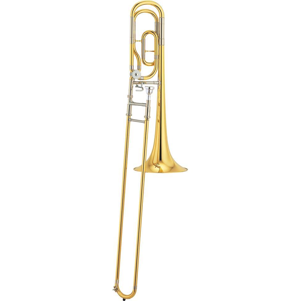 Yamaha YSL640 B flat/F tenor trombone (lacquer) Image 1