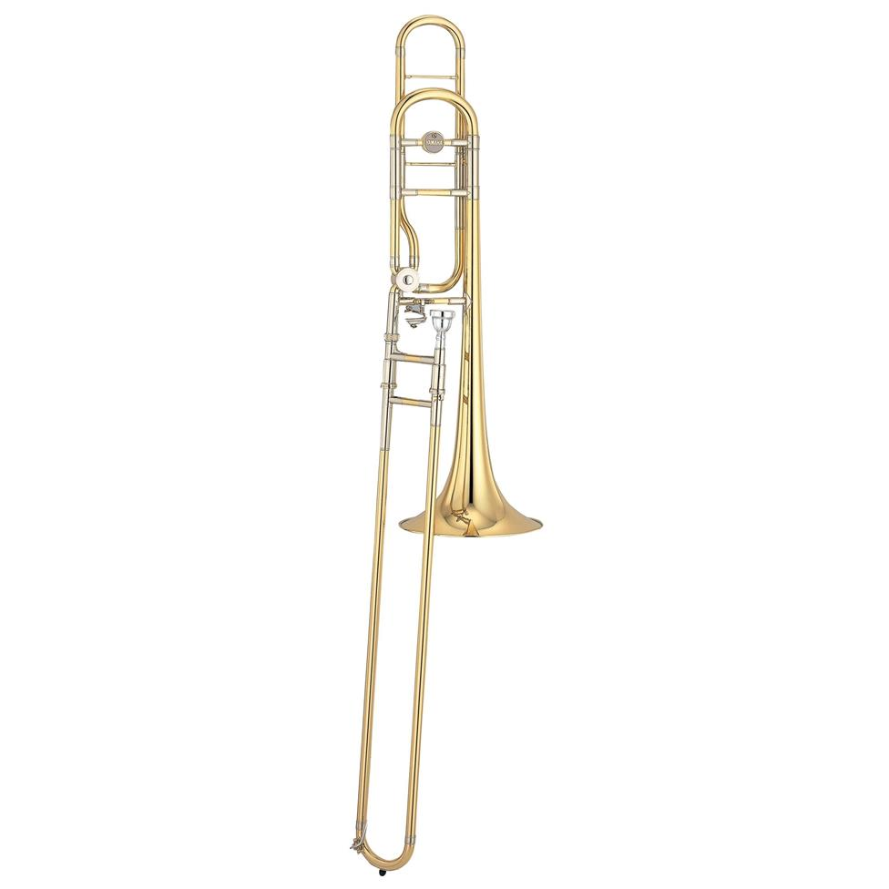 Yamaha Custom YSL882 B flat/F tenor trombone (lacquer) Image 1