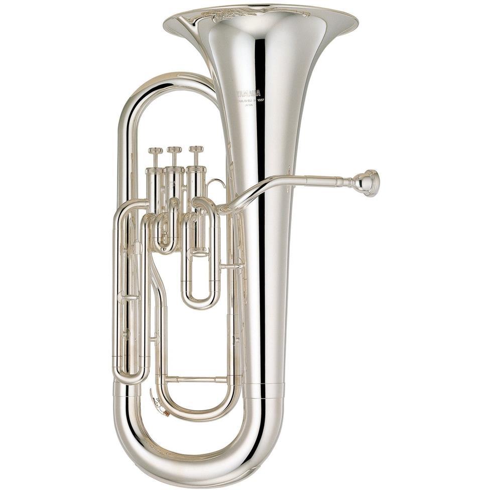 Yamaha YEP-201S euphonium (silver) Image 1
