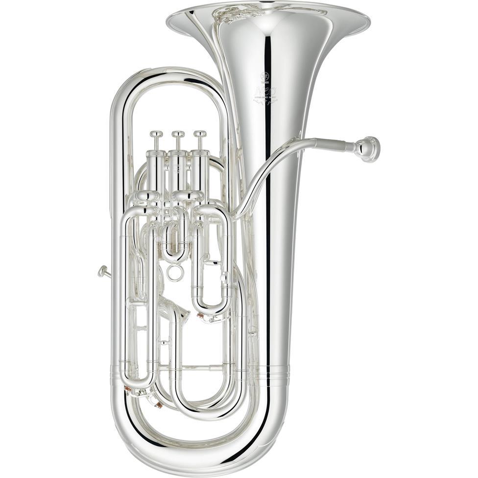 Yamaha Neo YEP642S-02 euphonium (silver) Image 1