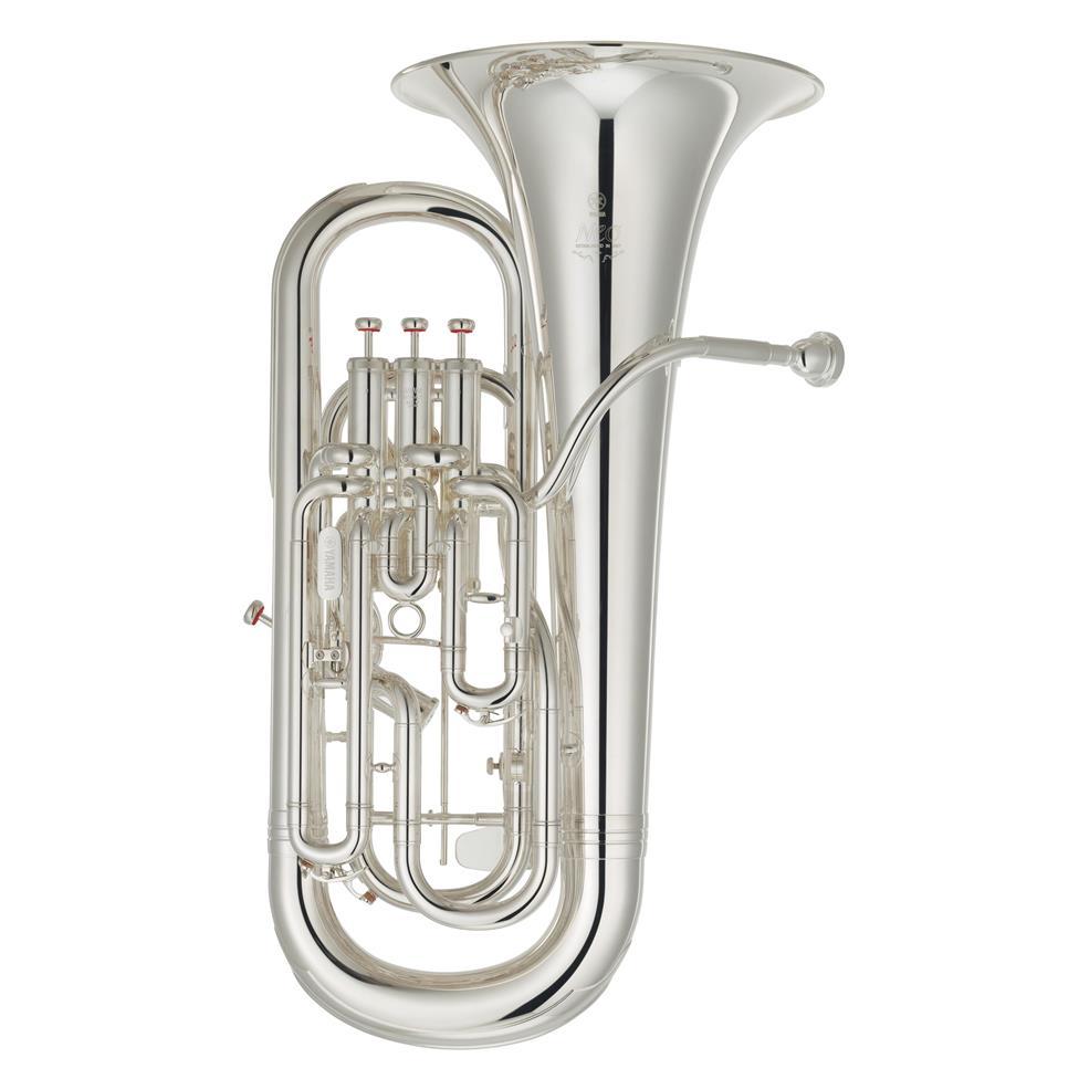 Yamaha Neo YEP642TS euphonium with trigger (silver) Thumbnail Image 0