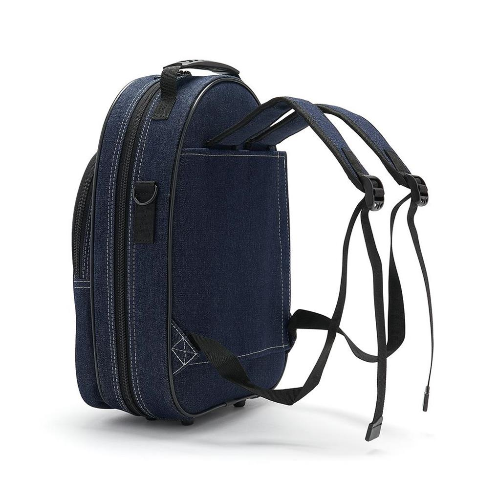 Beaumont clarinet case (blue denim)