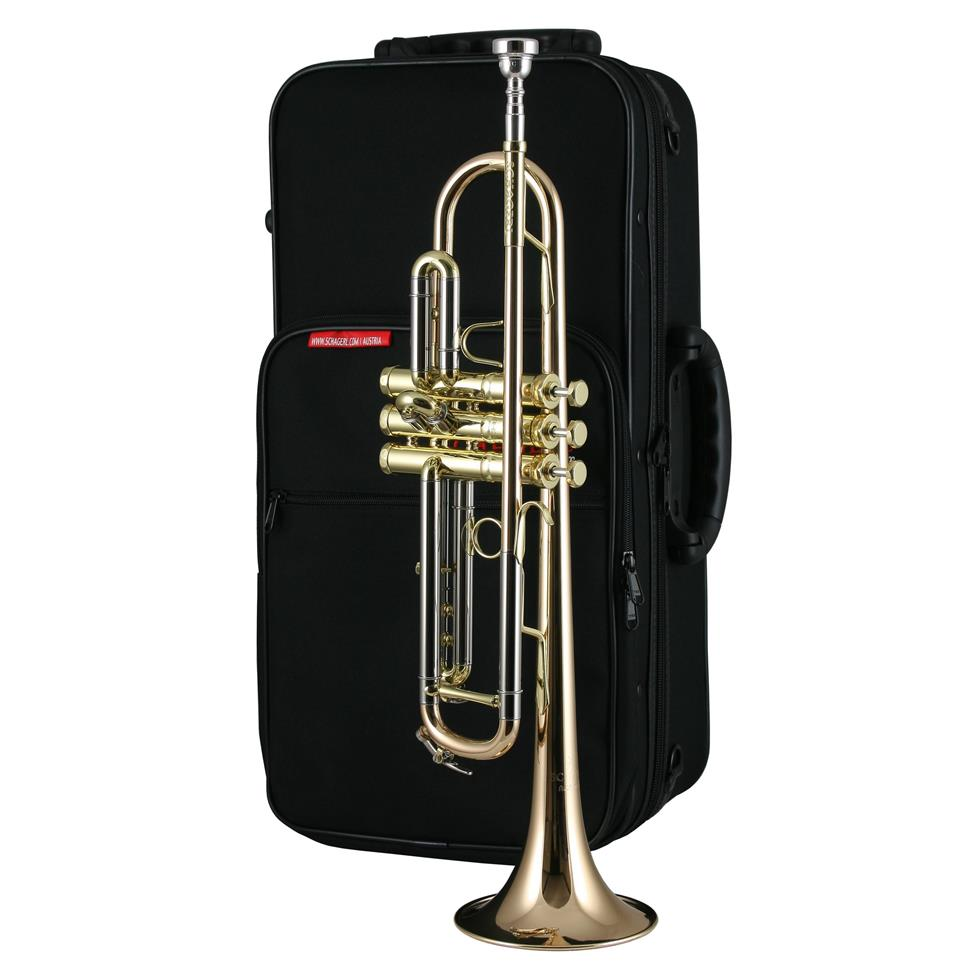 Schagerl Academica TR620L B-flat trumpet (lacquer) Thumbnail Image 2