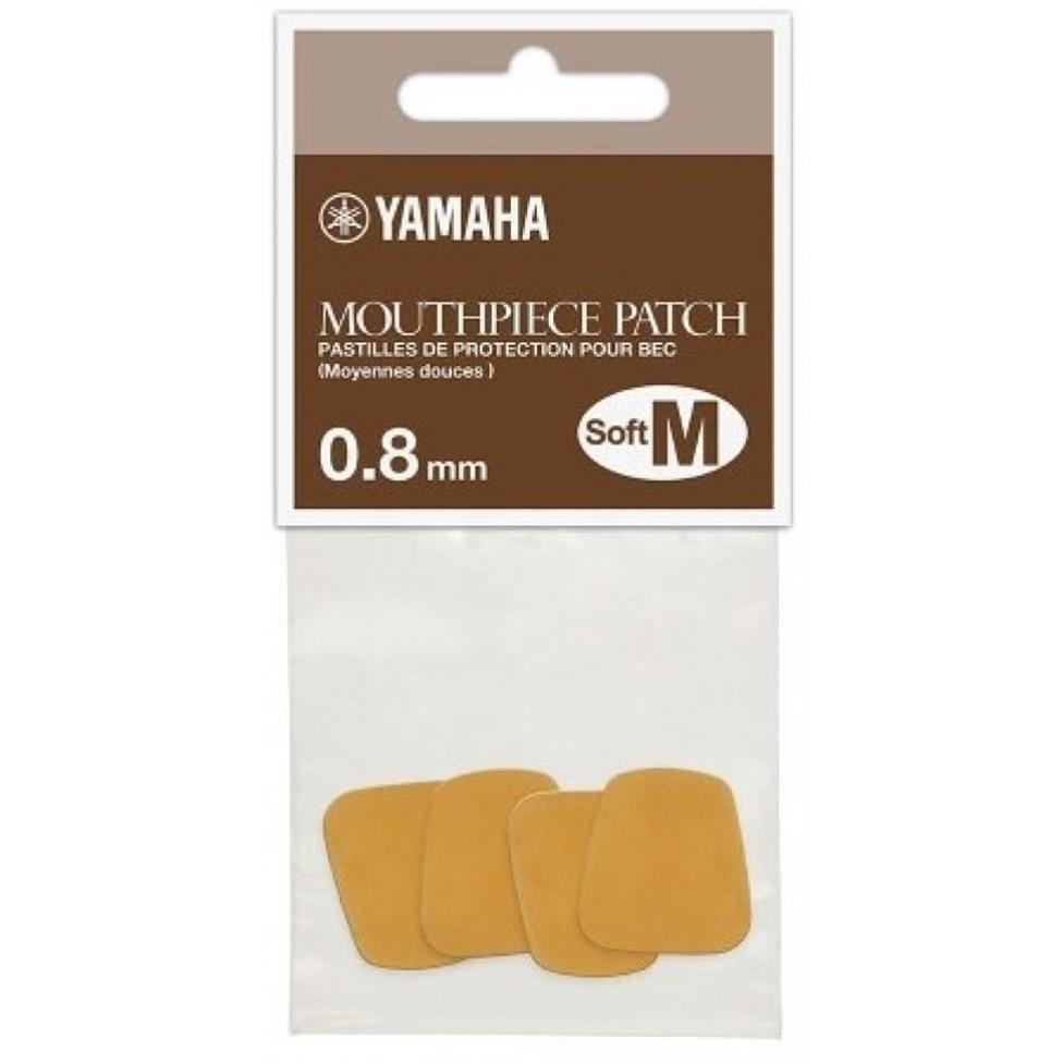 Yamaha mouthpiece cushions 0.8mm (4-pack, soft) Image 1