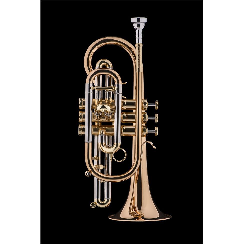 Schagerl 620L B flat cornet (lacquer) Image 1