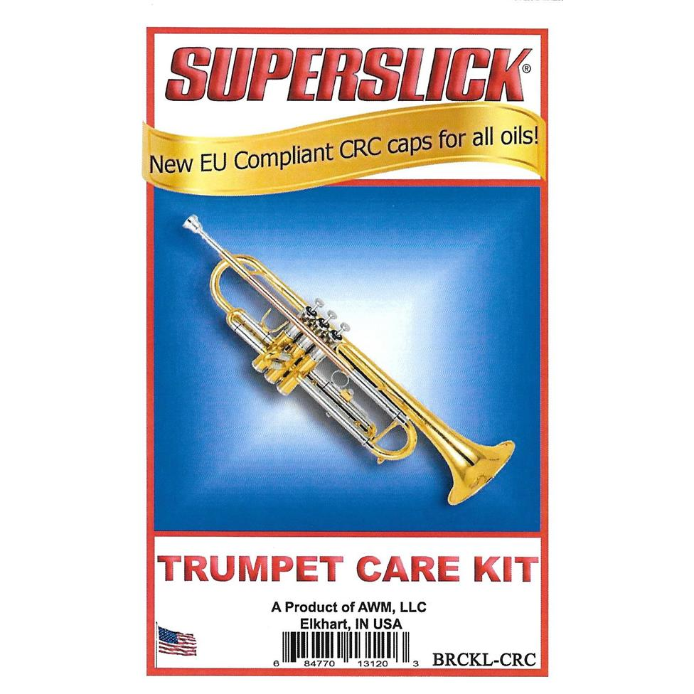 Superslick trumpet care kit (lacquer instruments) Thumbnail Image 0