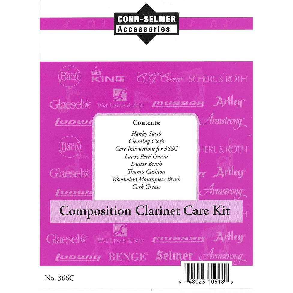 Conn clarinet care kit (plastic instruments)