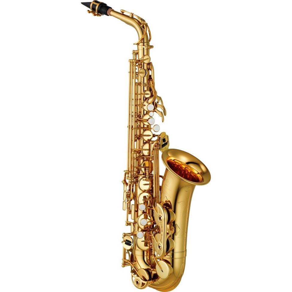 Yamaha YAS480 alto saxophone (lacquer) Image 1