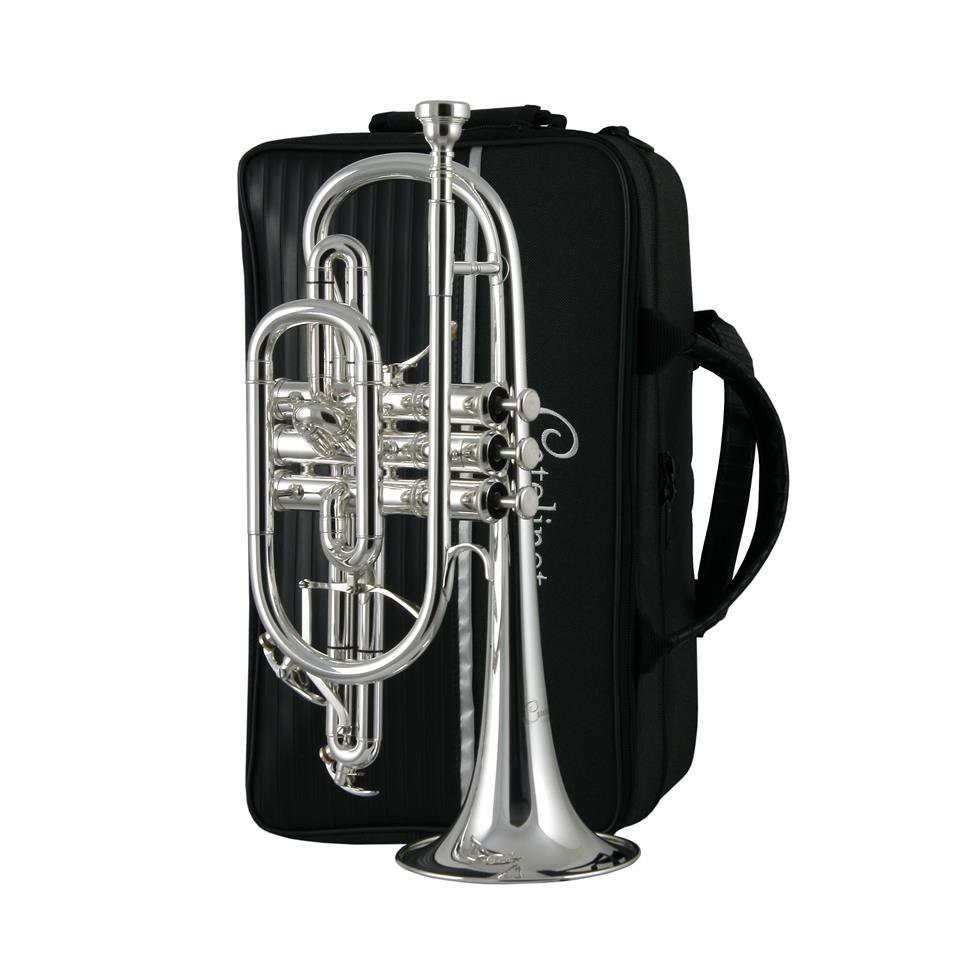 Catelinet CCR15S B flat cornet (silver) Thumbnail Image 2