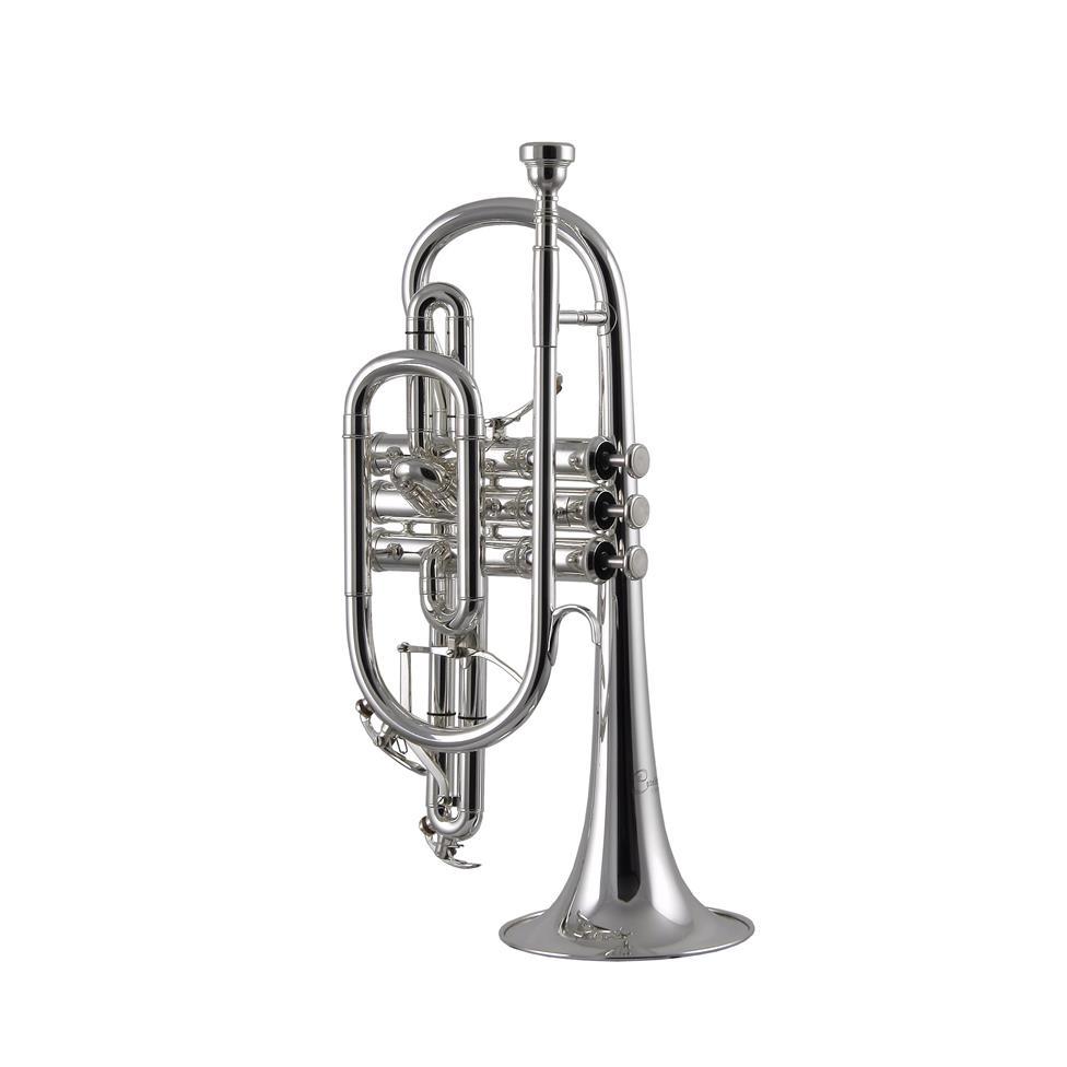 Catelinet CCR15S B flat cornet (silver) Thumbnail Image 0