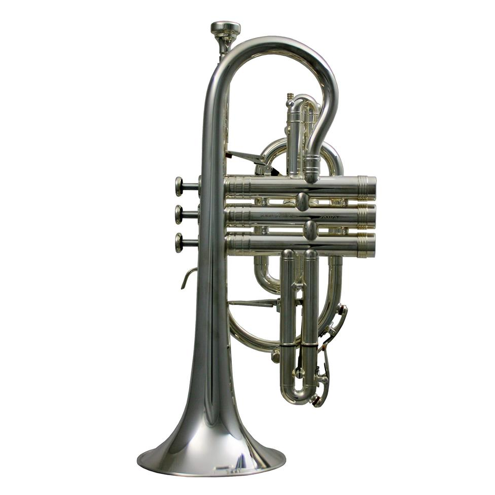 Geneva Symphony B flat cornet (silver) Image 1