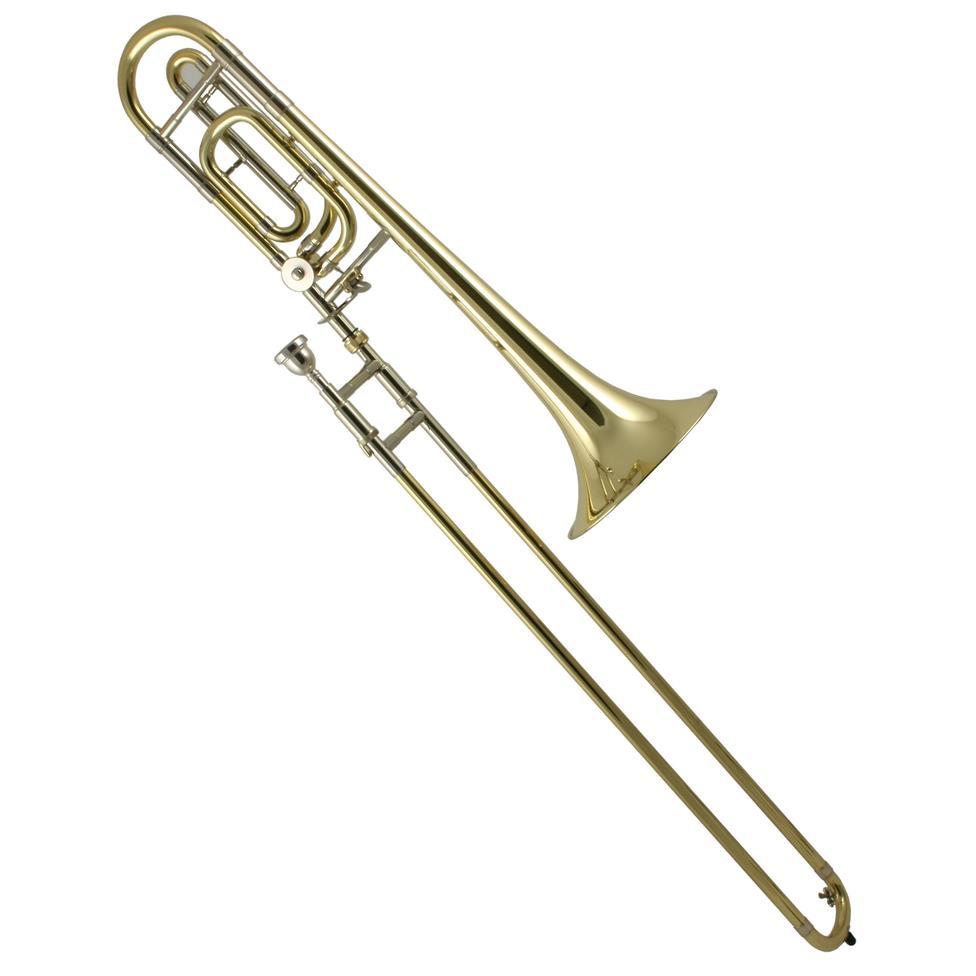 Bach Stradivarius 36B B flat/F tenor trombone (lacquer) Thumbnail Image 0