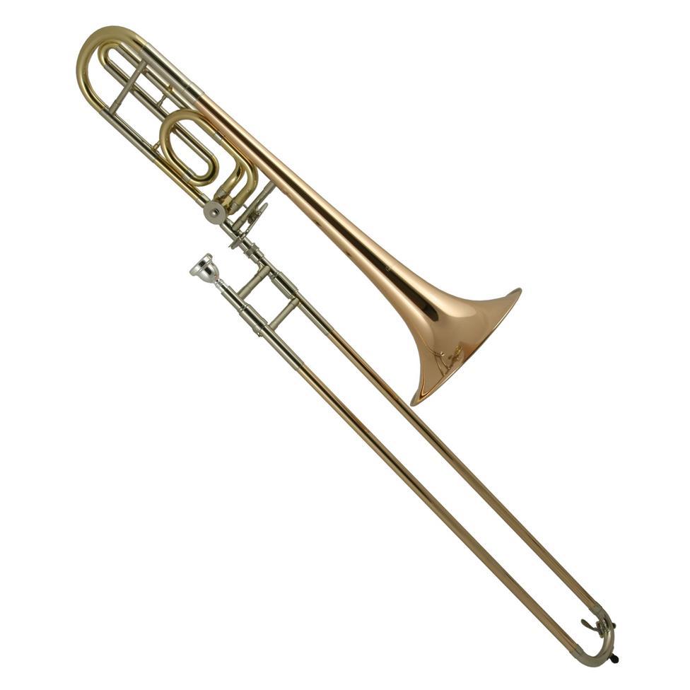 [Ex-Demo] Courtois AC440BR B-flat/F tenor trombone Image 1