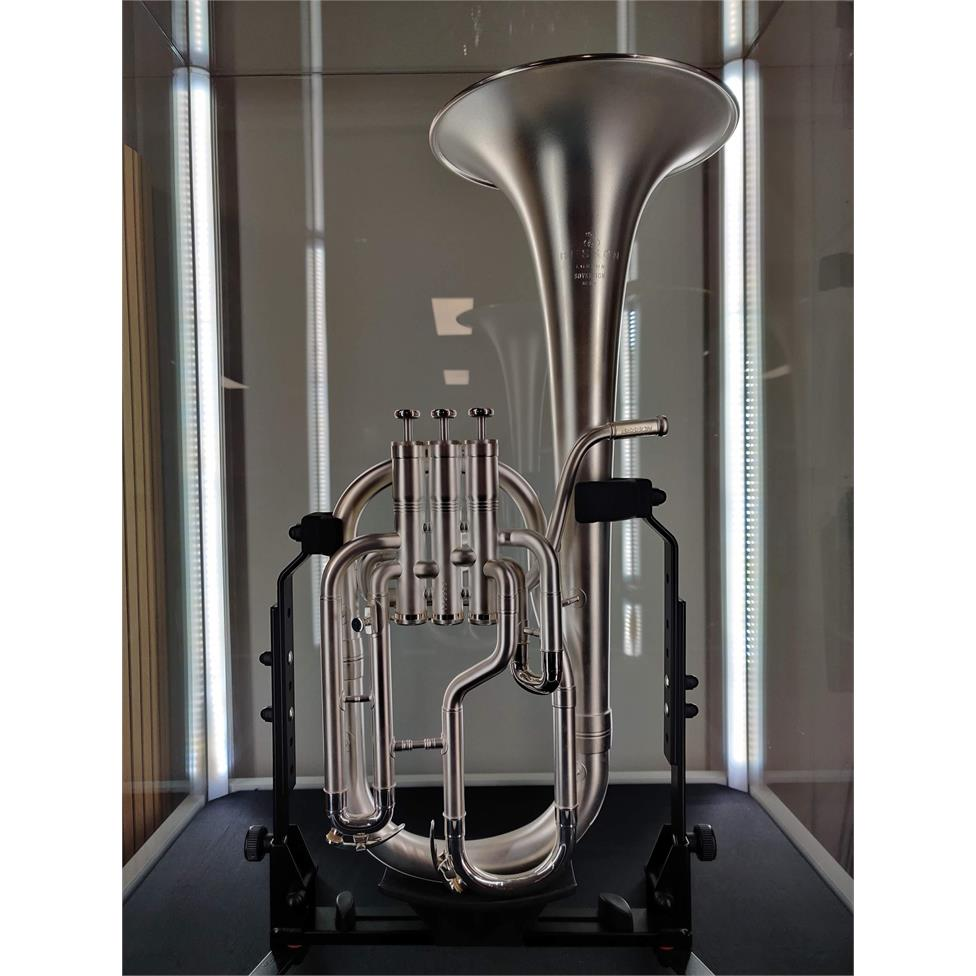 DEMO Besson Sovereign Anniversary BE950-2M tenor horn (satin silver) Thumbnail Image 1