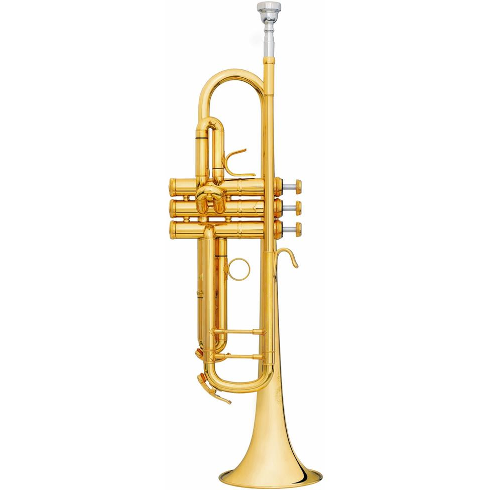B&S Challenger II 3137IIS B-flat trumpet (silver) Image 1