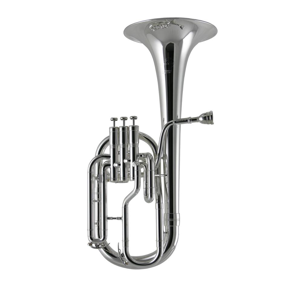 Besson Sovereign Anniversary BE950-2M tenor horn (satin silver) Image 1