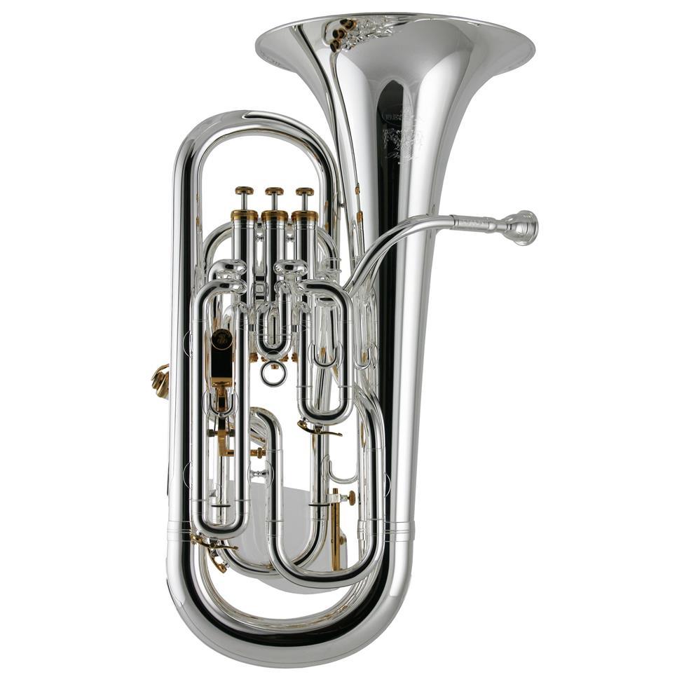 Besson Prestige BE2052-2 euphonium (silver) Thumbnail Image 0