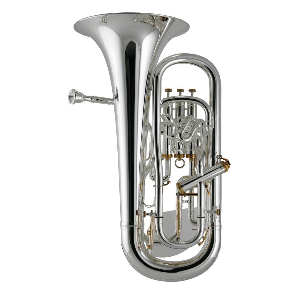 Besson Prestige BE2052-2 euphonium (silver) Thumbnail Image 1